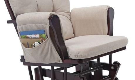 Chaise ber ante et tabouret confort de storkcraft for Chaise berceuse