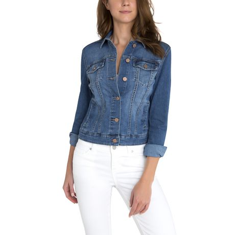 0067d63fc5 Jordache Women s Denim Jacket - image 1 ...