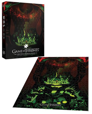 USAopoly Game of Thrones Premium PUZZLE: Long May She Reign - image 2 of 2