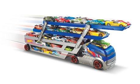 hot wheels turbo hauler vehicle 5 cars - Voitures Hot Wheels