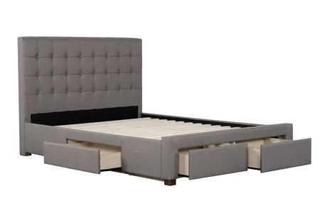 Primo International Quinton Upholstered Bed With Storage
