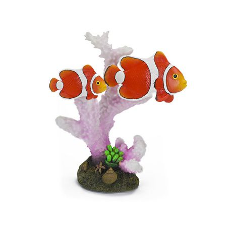 Penn-Plax Penn Plax Deco Replica Clown Fish Diorama - image 1 of 1