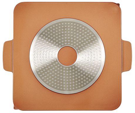 grille copper chef de 12po avec plaque induction en acier inoxydable. Black Bedroom Furniture Sets. Home Design Ideas