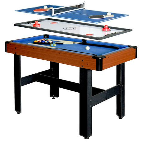 Hathaway Triad 48-inch 3-in-1 Multi-Game Table | Walmart Canada