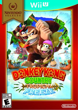 Nintendo Selects: Donkey Kong Country Tropical Freeze WiiU - image 1 of 1
