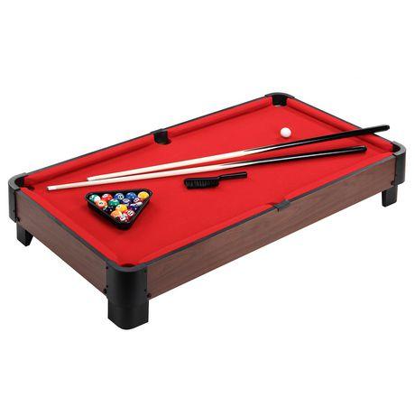 Hathaway Striker 40 Inch Table Top Pool Table