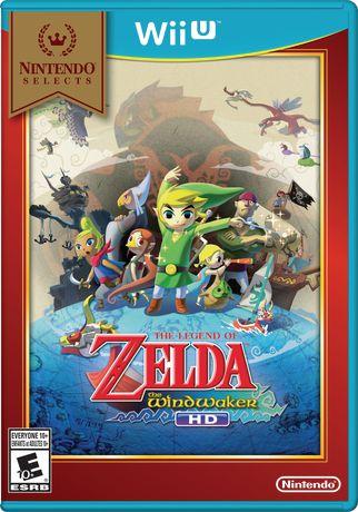 Nintendo Selects: The Legend of Zelda: The Wind Waker HD (Wii U) - image 1 of 1