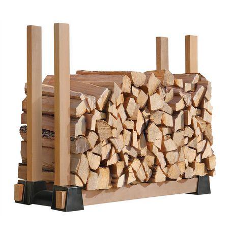 Lumber Rack Firewood Bracket Kit Walmart Canada