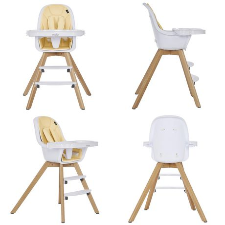 Evolur Zoodle 3-in-1 High Chair I Booster Feeding Chair I Modern Design I Toddler Chair I Removable Cushion I Adjustable Tray I Baby, Infant, and Toddler - image 6 of 9