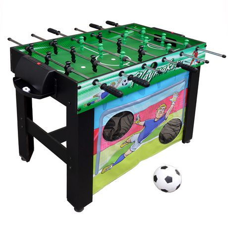 e5c468be6c005 Table de baby-foot multi jeux 3-en-1 Playmaker de Hathaway ...