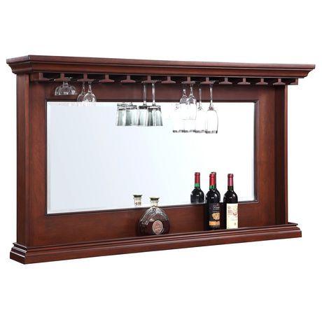 miroir pour l arri re du bar seville de hathaway walmart canada. Black Bedroom Furniture Sets. Home Design Ideas