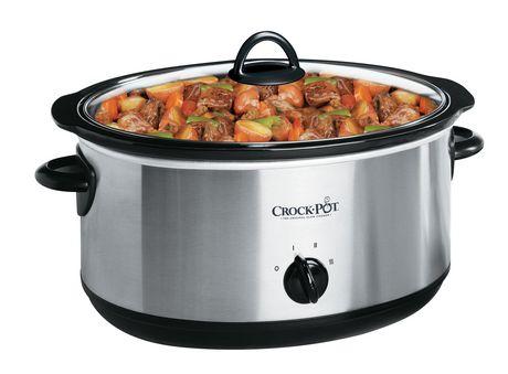 Crock-Pot 7 Qt. Slow Cooker, SCV700SS-033 - image 1 of 3