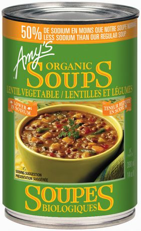 Magnificent Amys Kitchen Organic Low Sodium Vegetable Lentil Soup Interior Design Ideas Inamawefileorg