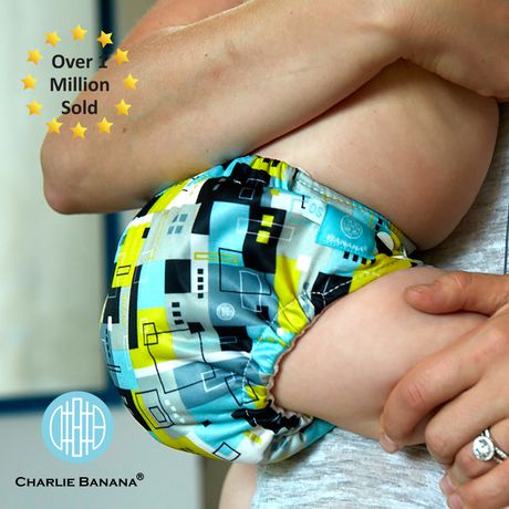 Charlie Banana 2 Inserts Hybrid All-in-One Reusable ClothDiapers - image 4 of 7