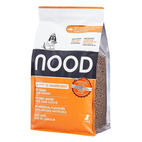 NOOD Small Breed Sustainable Salmon and Lentil Dry Dog Food - image 1 of 9