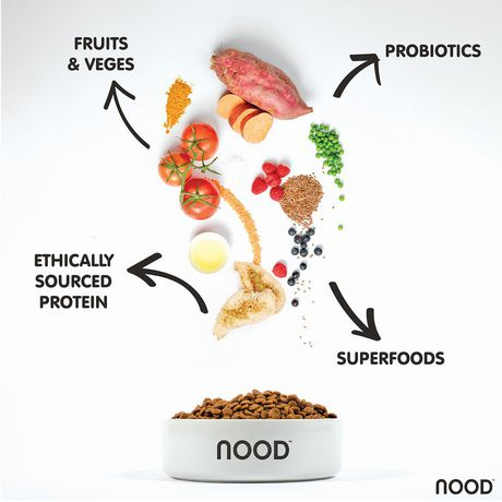NOOD Small Breed Sustainable Salmon and Lentil Dry Dog Food - image 4 of 9