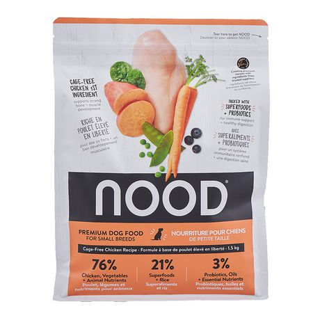 NOOD Small Breed Cage-Free Chicken and Lentil Dry Dog Food - image 2 of 9