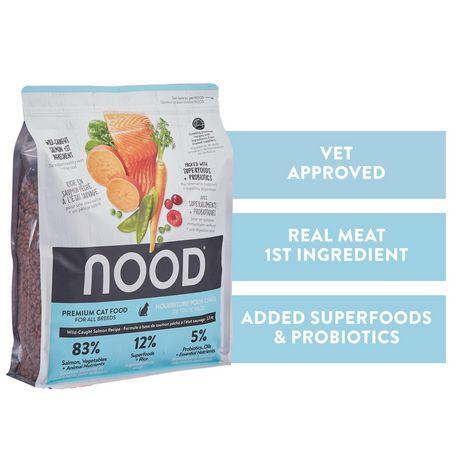 NOOD Sustainable Salmon & Pea Cat Food - image 1 of 7