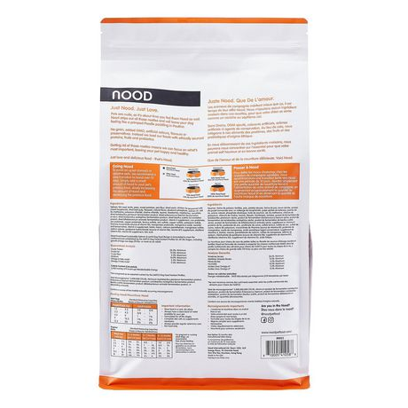 NOOD Small Breed Sustainable Salmon and Lentil Dry Dog Food - image 2 of 9