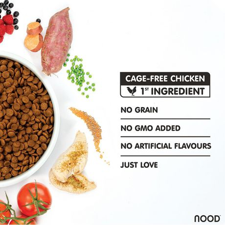 NOOD Large Breed Cage-Free Chicken and Lentil Dry Dog Food - image 3 of 9