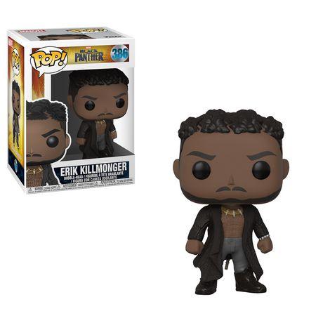 Figurine en vinyle Erik Killmonger avec Scars de Black Panther par Funko POP! - image 1 de 1