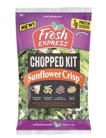 fresh express chopped sunflower crisp salad kit walmart. Black Bedroom Furniture Sets. Home Design Ideas
