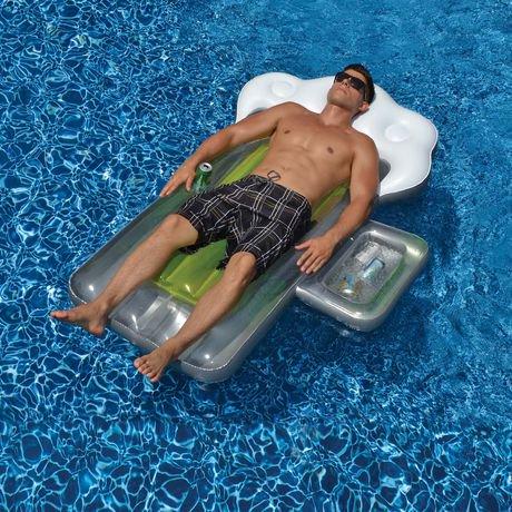 Swimline Beer Mug 72 Inch Inflatable Pool Float With Mini