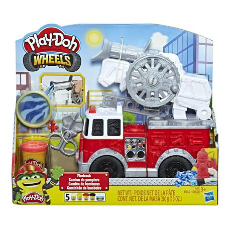 Play-Doh Wheels Firetruck Toy - image 1 of 7