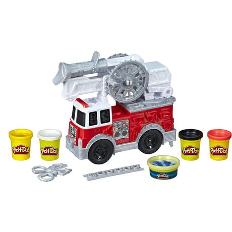 Play-Doh Wheels Firetruck Toy - image 2 of 7