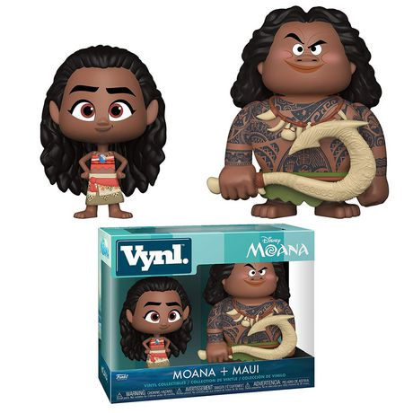 Funko Vynl! Movies: Moana - Maui And Moana Vinyl Figure