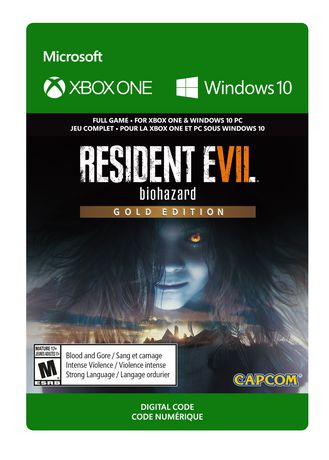 Xbox One RESIDENT EVIL 7 Biohazard Gold Edition Digital Download - image 1 of 1