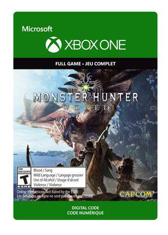 Xbox One Monster Hunter: World Digital Download - image 1 of 1