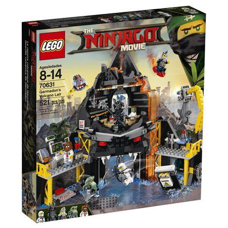 LEGO Ninjago Le repaire volcanique de Garmadon (70631) - image 4 de 5