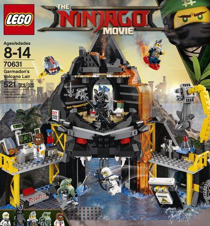 LEGO Ninjago Le repaire volcanique de Garmadon (70631) - image 2 de 5