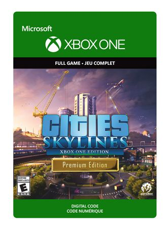 Xbox One Cities: Skylines - Premium Edition Digital Download