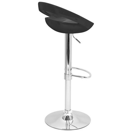tabouret de bar swizzle contemporain hauteur ajustable de lumisource walmart canada. Black Bedroom Furniture Sets. Home Design Ideas