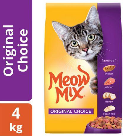 Meow Mix Original Choice Cat Food 4kg - image 1 of 4