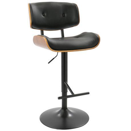 mid century modern bar stools. Lombardi Mid-Century Modern Barstool By LumiSource Mid Century Bar Stools