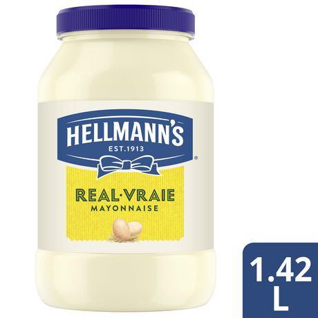 Mayonnaise Hellmann's Vraie 1.42 LT - image 2 de 10