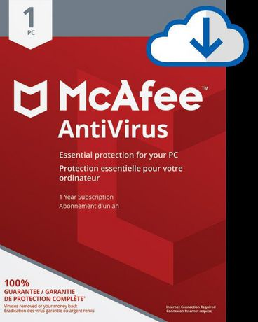 download mcafee antivirus full version for pc