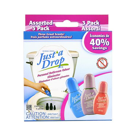 Just'a Drop Assorted 3 Pack Toilet Odour Eliminator - image 1 of 3