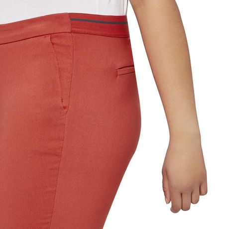 George Plus Women's Pull On Ankle Length Dress Pants - image 4 of 6