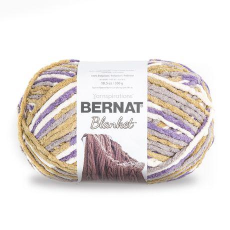 BERNAT BLANKET YARN (300G/10.5 OZ), LILAC BUSH - image 1 de 3