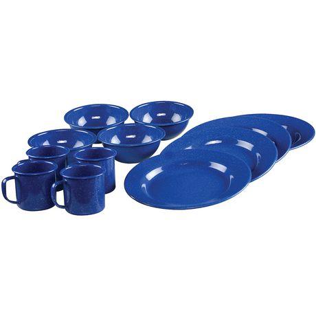 Coleman 12-Piece Enamelware Dining Set - image 1 of 3