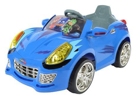 rollplay pj masks cat car battery ride on walmart canada. Black Bedroom Furniture Sets. Home Design Ideas