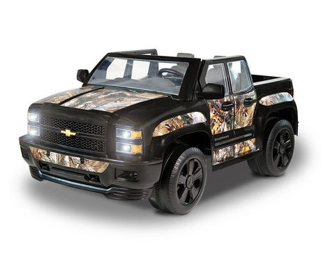 ROLLPLAY Chevy Silverado Realtree Ride-On - image 1 of 4