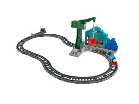 Fisher-Price Thomas & Friends Track Master Demolition at The Docks