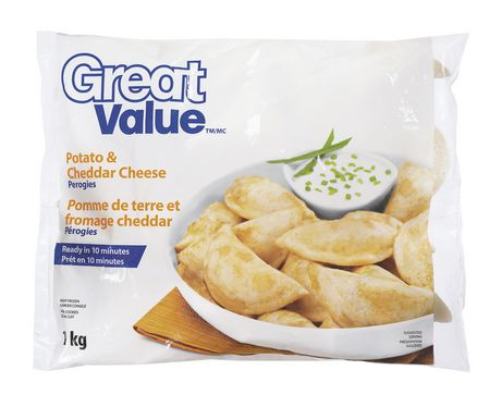 Great Value Potato and Cheddar Cheese Perogies - image 1 of 2