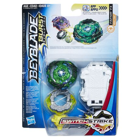 Beyblade Burst Evolution Switchstrike Starter Pack Fafnir F3 by Beyblade