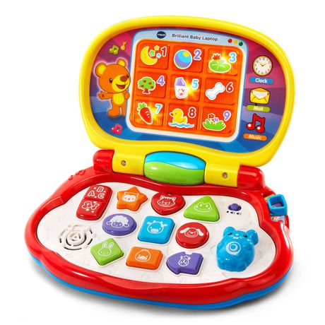 Ongebruikt VTech® Brilliant Baby Laptop Toy - English Version   Walmart Canada BR-92